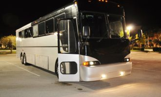 40 passenger party bus Kansas City