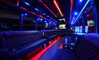 40 passenger party bus rental Kansas City