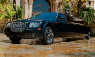 Chrysler 300 limo service Kansas City