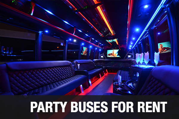 Party Buses For Rent Kansas City